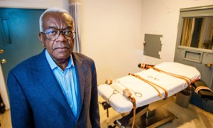 Inside Death Row with Trevor McDonald: the room where inmates receive a lethal injection.